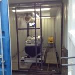 Yanmar generator ingebouwd in 20FT container